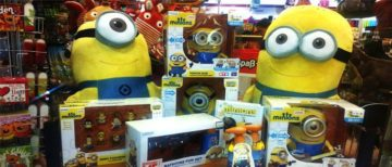 Minions Clothing Set For Fashion Children