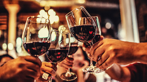 The three important steps when having a wine tasting
